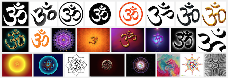 AUM OHM Namaste & OM Shanti Yoga Blessing & Greeting